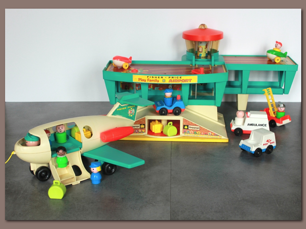 Aeroport Fisher Price vintage