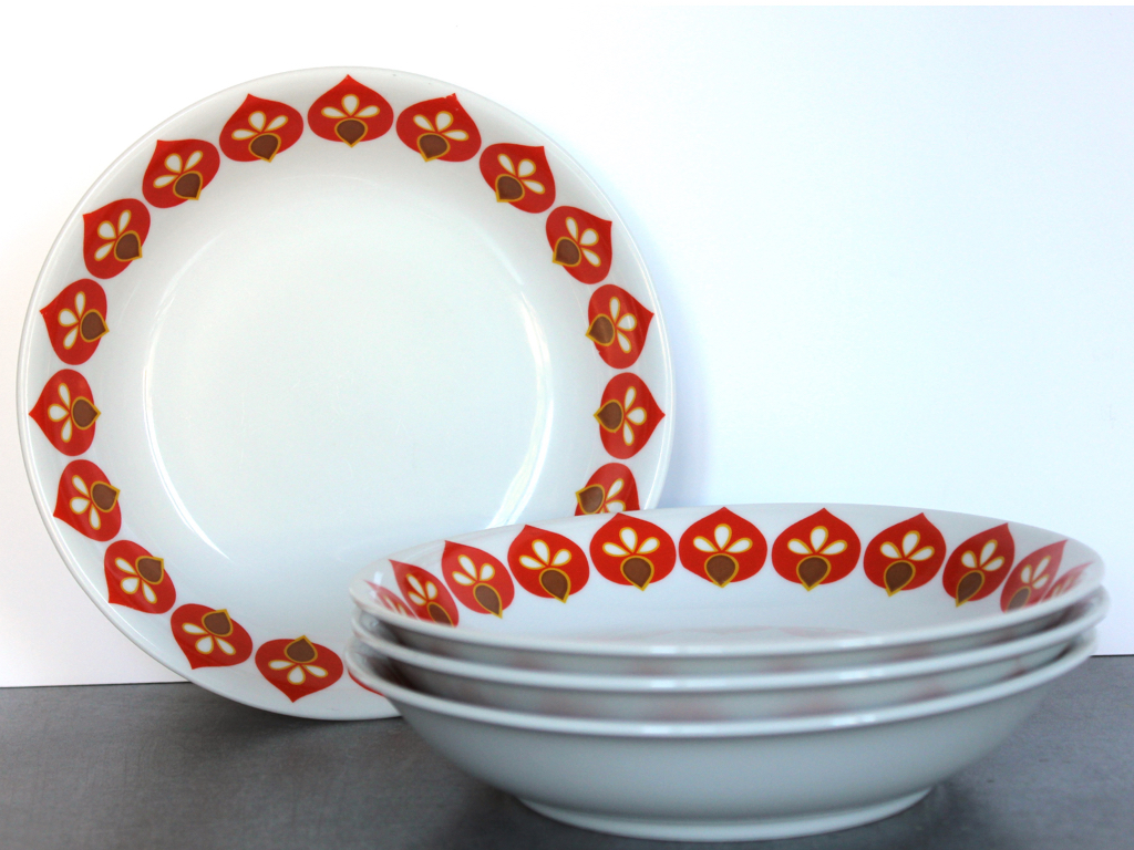 Assiettes-Bavaria-Vintage-Seventies