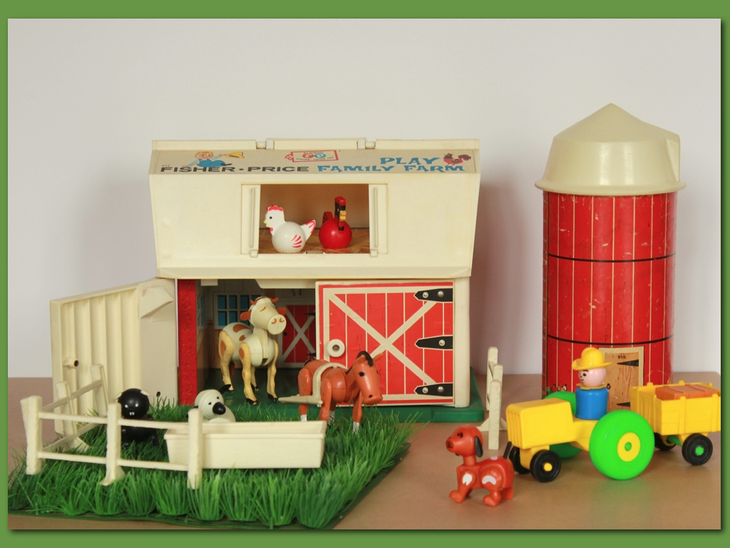 Ferme Fisher Price 1967