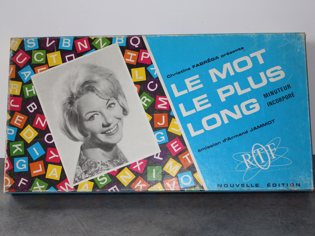 Jeu-le mot le plus long-Vintage