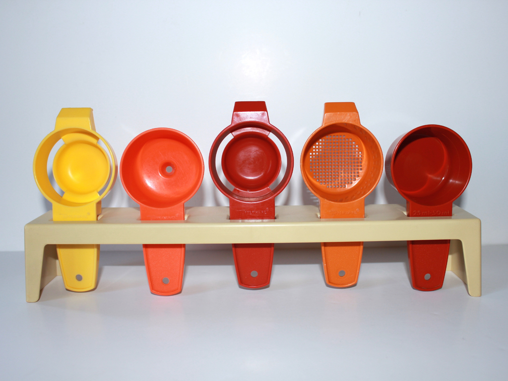 Mesures Tupperware-vintage