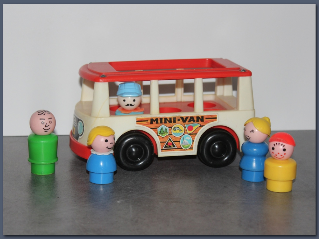 Mini van Fisher Price vintage