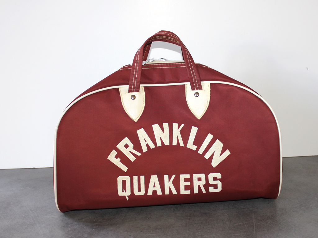 Sac de sport-Vintage-Basketball-Franklin-Quakers-USA