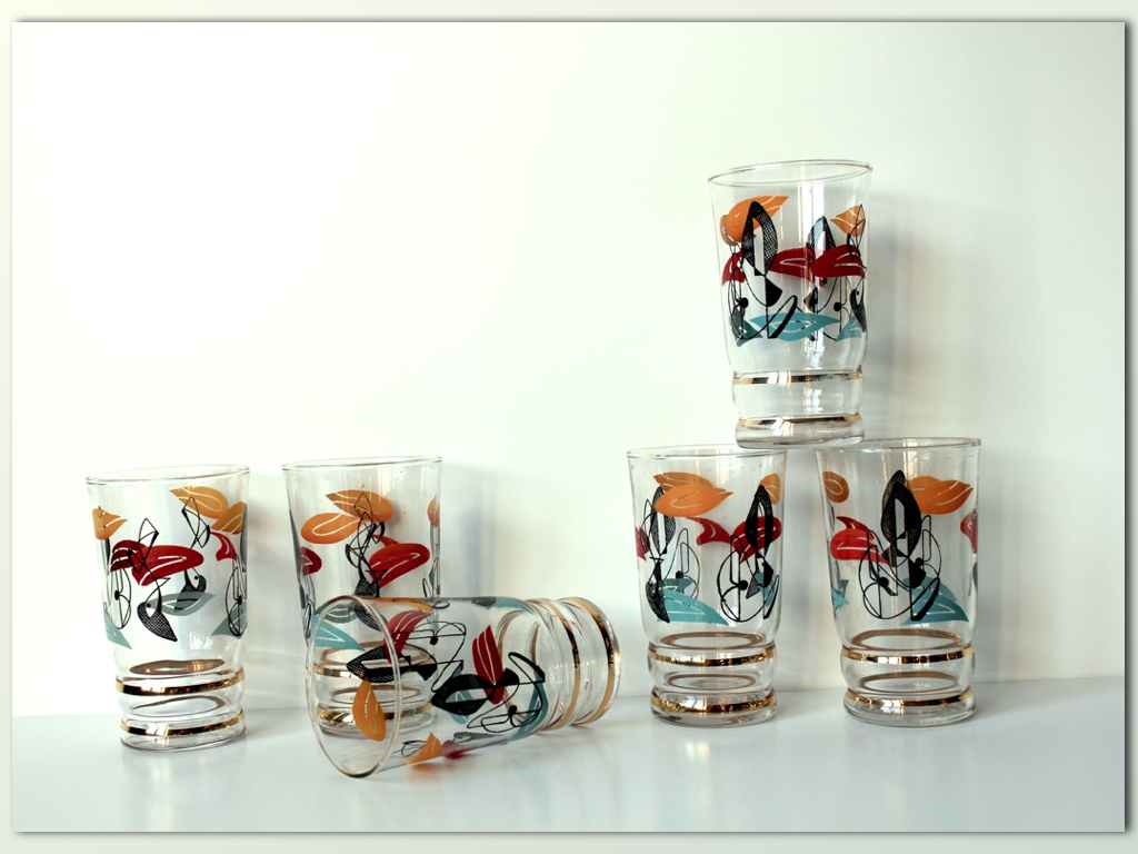 Verres Fifties