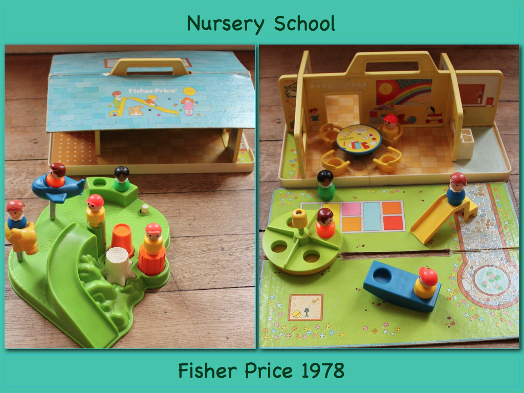 ecole-maternelle-nursery-school-fisher-price-vintage