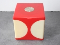 Boite a maquillage-cube-vintage-Seventies-made in Hong Kong