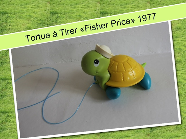 Tortue à tirer Fisher Price