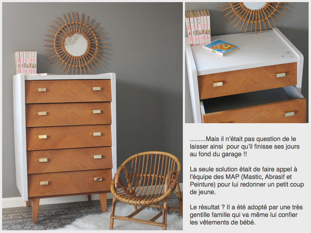 avant apr s la page relooking 1 rue vintage. Black Bedroom Furniture Sets. Home Design Ideas