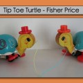 Fisher Price tortue Tip Toe vintage